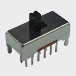 Slide Switch SS008B-02P-42-G-Y