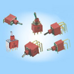 Sealed Miniature Toggle Switch 1A Series